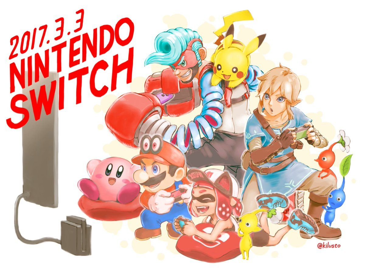 Image result for nintendo switch arms concept art
