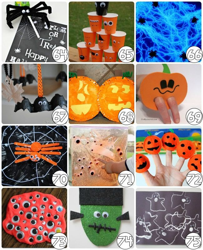 Nice Kids Arts And Crafts Ideas Free Part - 11: 75 Halloween Craft Ideas For Kids