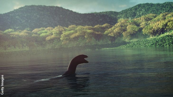 Great Loch Ness Monster Digital Illustration Lake Monsters Loch Ness Monster Mysterious Universe