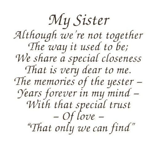 Image Result For Happy Mother Day To My Sister Poem With Images