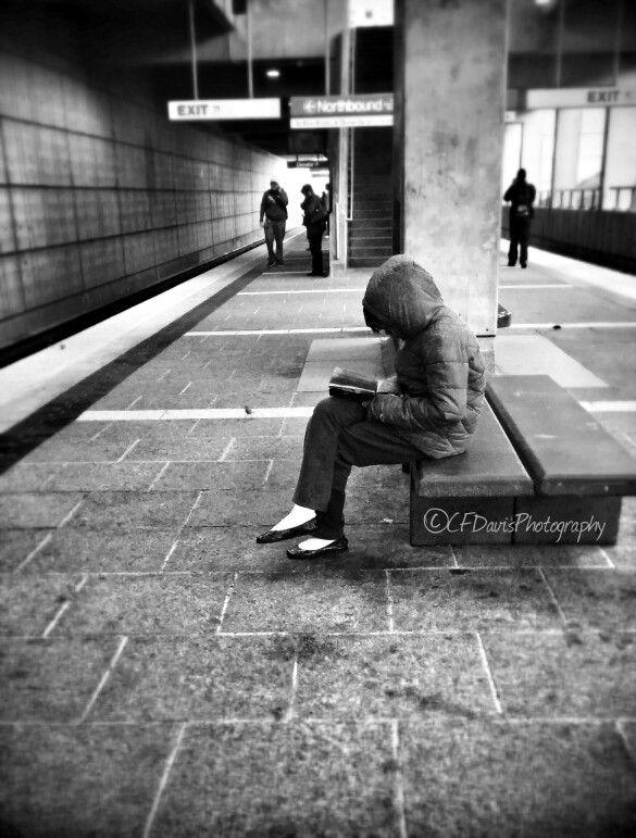 #People #Waiting #Reading #Concrete #PublicTransit #TrainStation #Atlanta #BlackAndWhite #Photography #CfDPhotography #HowIviewOurWorld #iShotThis #ShotByMe #IfYouSeeItShootIt #iSawItSoIshotIt #HaveCameraWillShoot #iSawIt #iLikedIt #iShotIt #SeeItLikeItShootItShareIt
