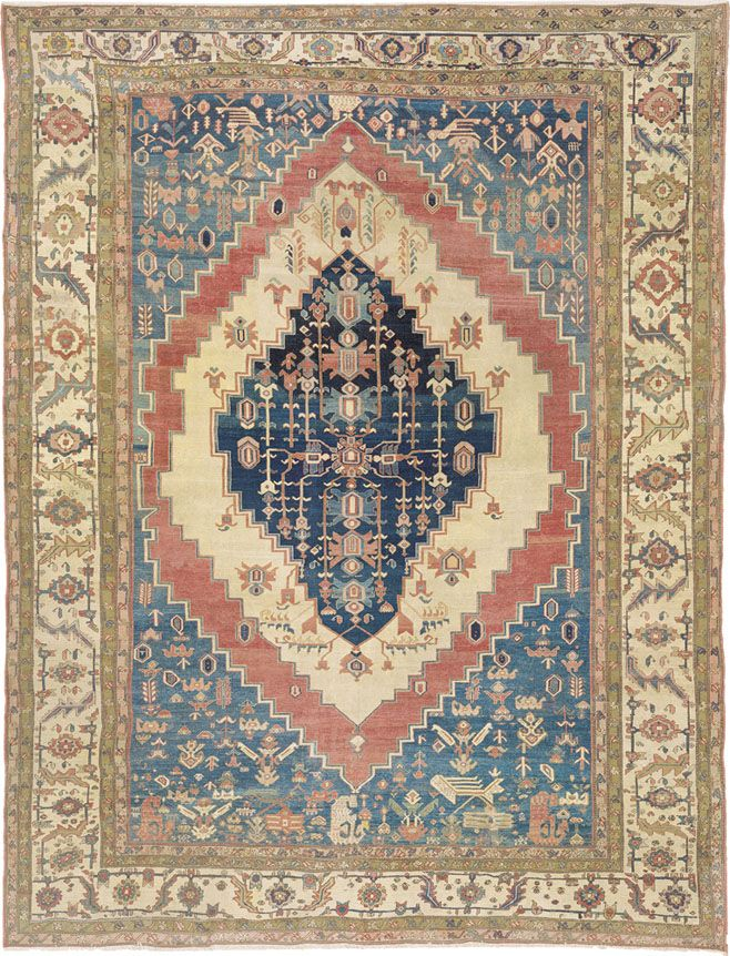 A Guide To Bakshaish Type Antique Persian Village Rugs Rugs On Carpet Rugs Simple Carpets