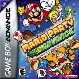 Mario Party Advance Nintendo Gba First Only Mario Party Title For The Game Boy Advance Gamepla Mario Party Games Nintendo Game Boy Advance Mario Party