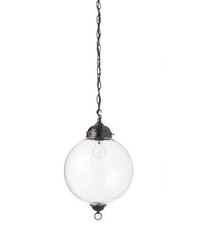 Knottsbury Glass Globe Pendant, 12