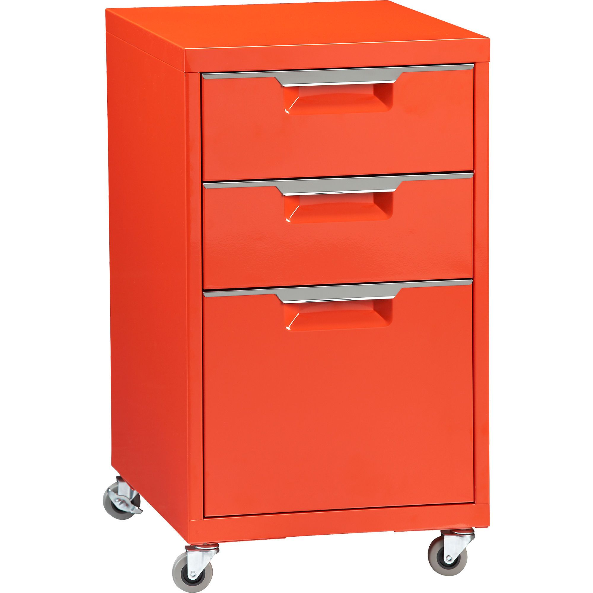 Bon TPS Bright Orange File Cabinet In Office Furniture | CB2