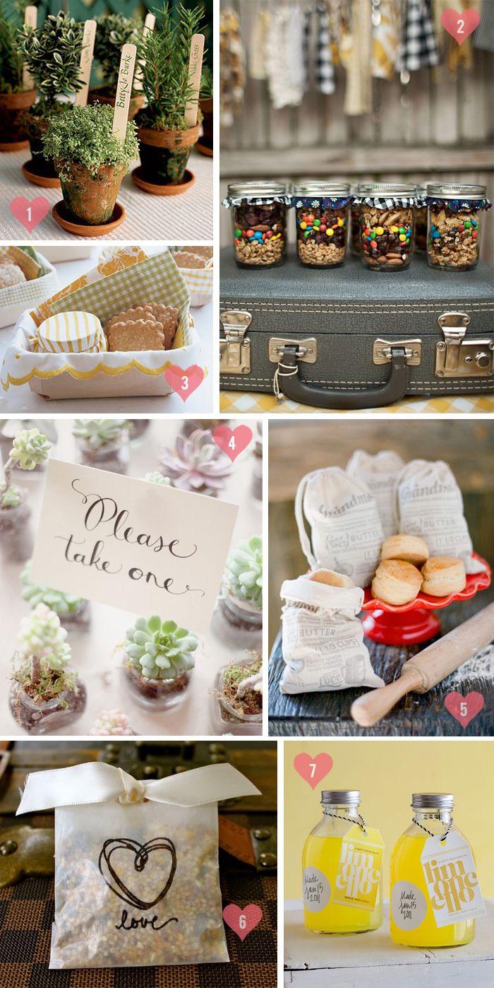 diy wedding party favors pinterest