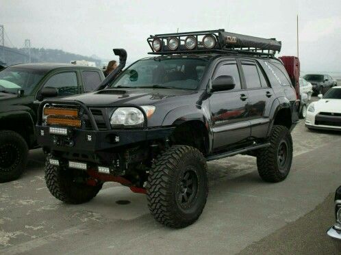 2006 Toyota 4Runner 4WD. Lifted, lit, and ready to roll. Spotted at ...
