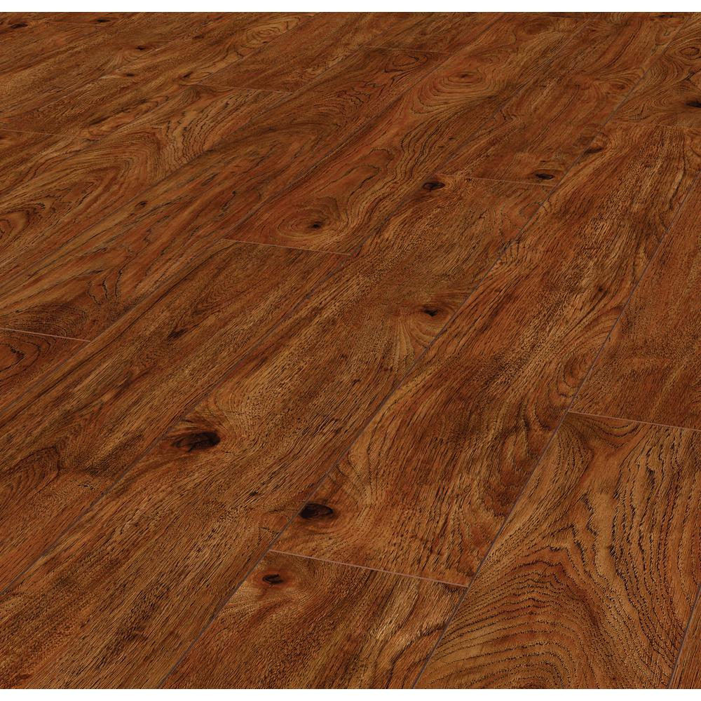 Lifeproof Warm Cinnamon Hickory 12 Mm Thick X 6 1 In Wide X 47 64 In Length Laminate Flooring 14 13 Sq Ft Case 361241 25637wr The Home Depot Laminate Flooring Flooring Maple Laminate Flooring