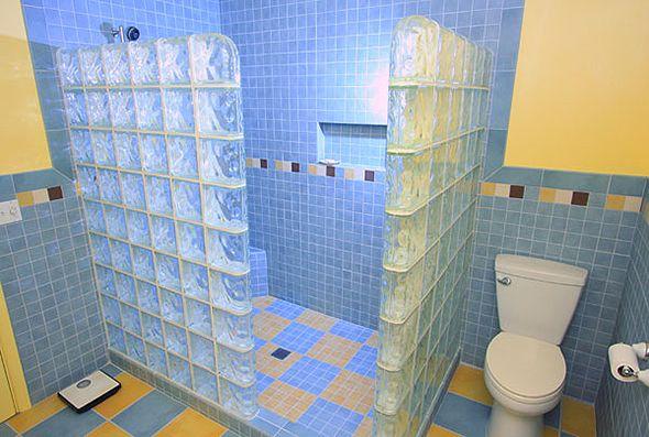 Banheiro Com Bloco De Vidro 16 Decorar Apartamento Designs De