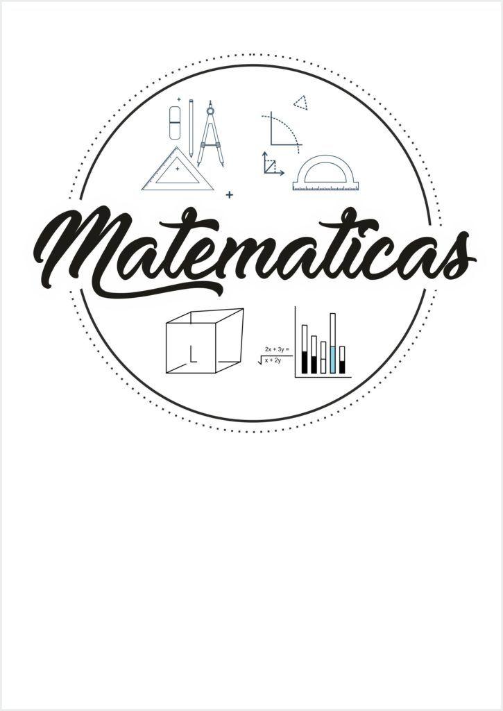 Portadas De Matematicas Para Colorear Portadas De Matematicas Caratulas De Matematicas Caratulas De Literatura