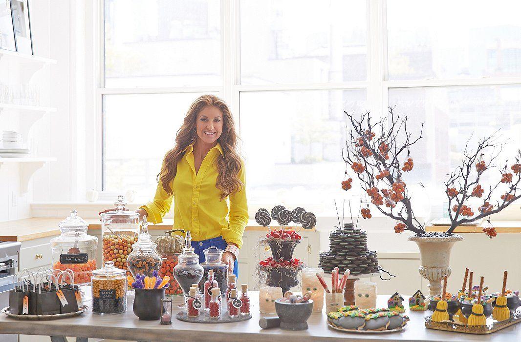 Dylan Lauren\u0027s Fabulous Ideas for a Spooky-Chic Candy Bar - asda halloween decorations