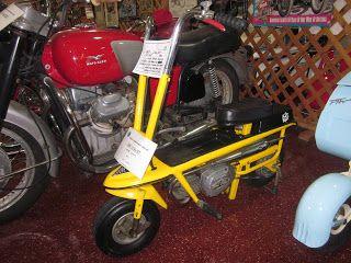 OldMotoDude: 1969 Italjet KitKat mini-bike on display at the Wo ...