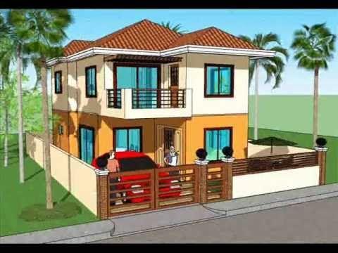 Simple House Plan Design 2 Storey House Philippines House Design Simple House Design Wood House Design