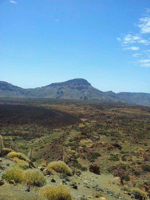 Tenerife. Las Cañadas del Teide