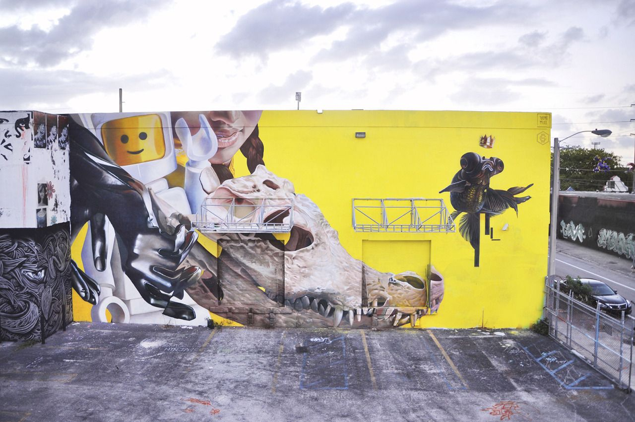 GLOVE ME TENDER.. Our latest mural in Miami is finished, Thanks to ...