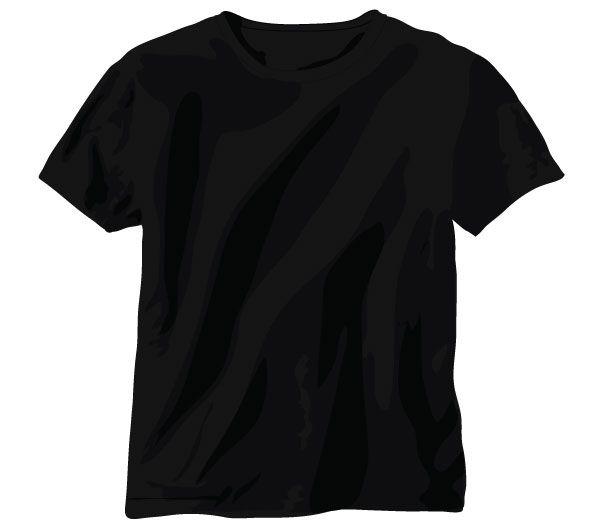 Download Free Tshirt Vector Black Shirt Template Shirt Template T Shirt Design Template Blank T Shirts
