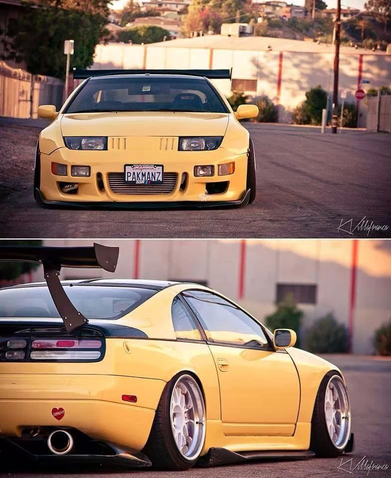300zx Turbo Slammed: I Have A Major Soft Spot For 300zx's #300zx #nissan
