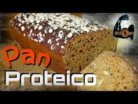 Pan proteico - Con claras de huevo, semillas de lino dorado, sal de ...