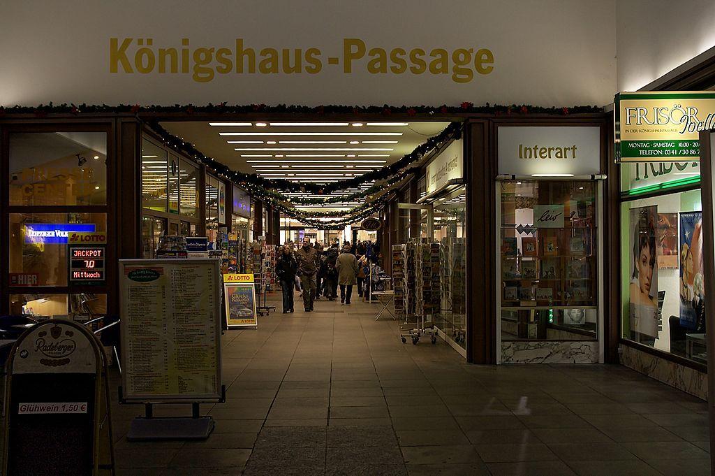 Koenigshaus-Passage Leipzig - Königshaus (Leipzig) – Wikipedia