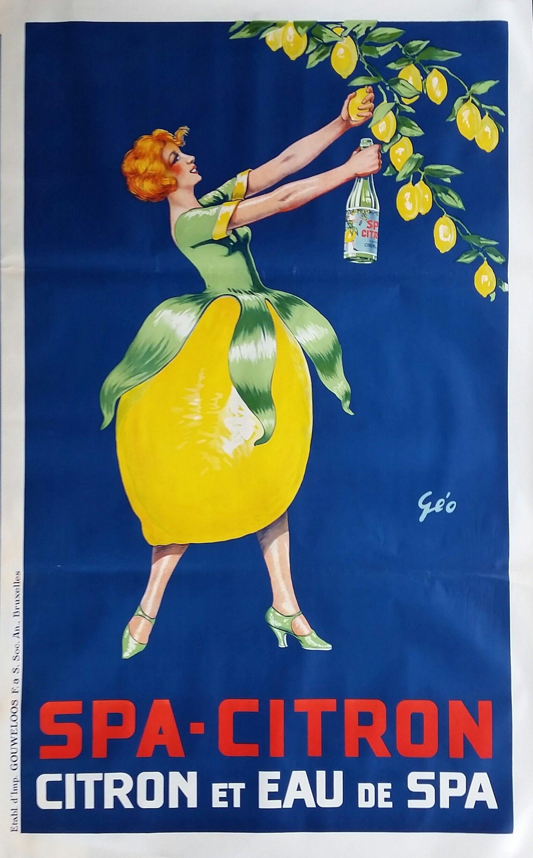 Original+Vintage+Poster+Spa+Citron+Geo+1925