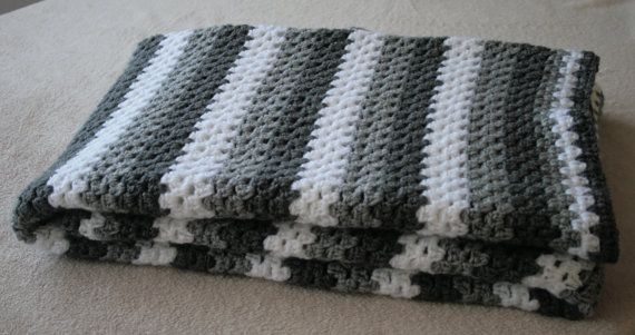 Hand-knitted Bed Blanket