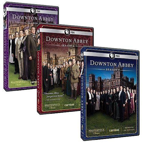 Masterpiece: Downton Abbey Complete Seasons 1, 2, & 3 DVD Set (Original U.K. Edition):Amazon: