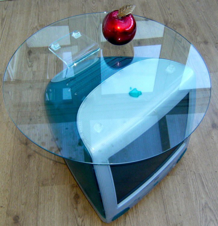 Imac Coffee Table Recycled Decorazioni