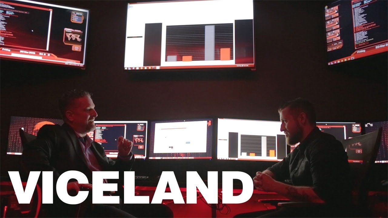 Patrolling the Networks with Cyber Guards: CYBERWAR (Clip)