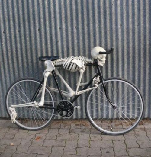 * Skeleton Bicycle *