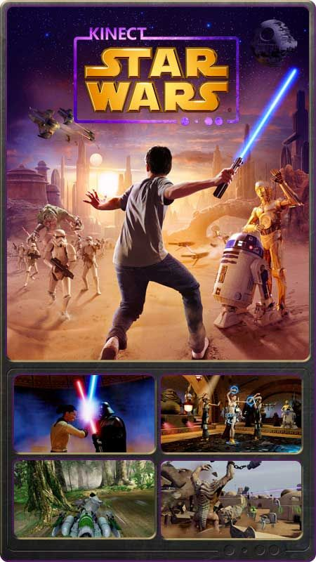 Kinect Star Wars Brings The Star Wars Universe To Life Like Never Before Harnessing The Controller Free Power Of Kine Star Wars Xbox Ultimate Star Wars Kinect