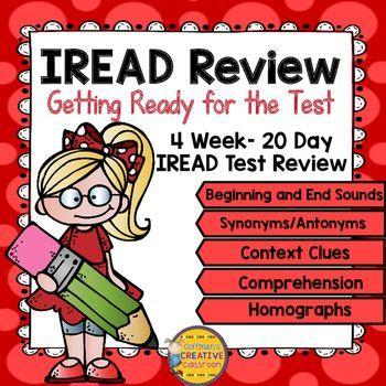 IREAD Review Reading Activities Indiana Standards