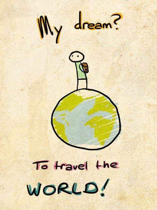 what is your destination for the trip of your dreams