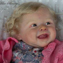 REBORN BABY GIRL ♥ HARPER BY ANDREA ARCELLO ♥ MARINA BLUE NURSERY♥ IIORA ♥  stand