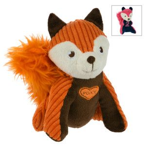 Martha Stewart Pets Fox Or Squirrel Dog Toy Squeaker Character