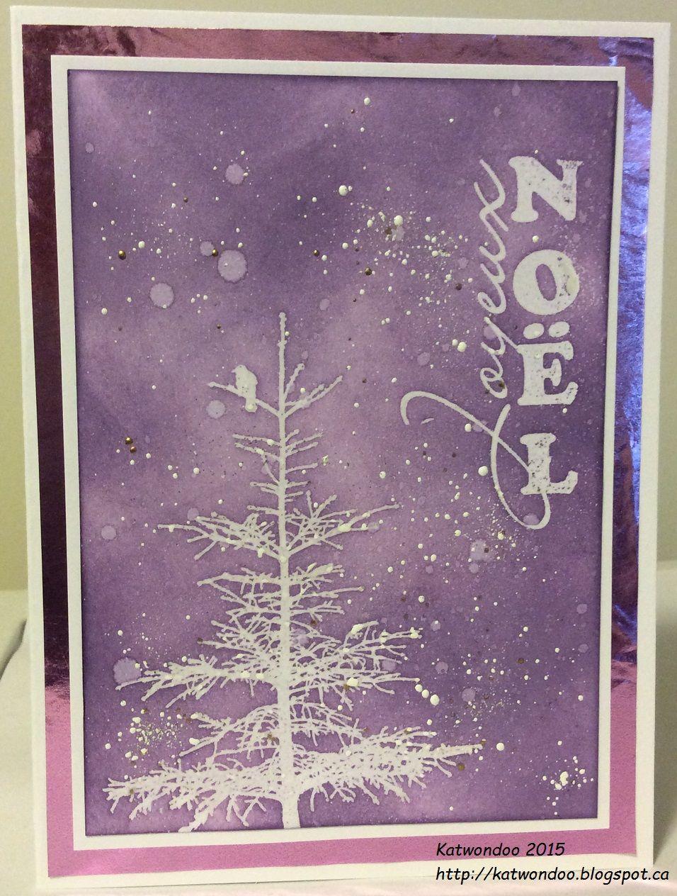 Ma Carte De Noel.Bonjour à Tous Aujourd Hui Je Vous Présente Ma Dernière