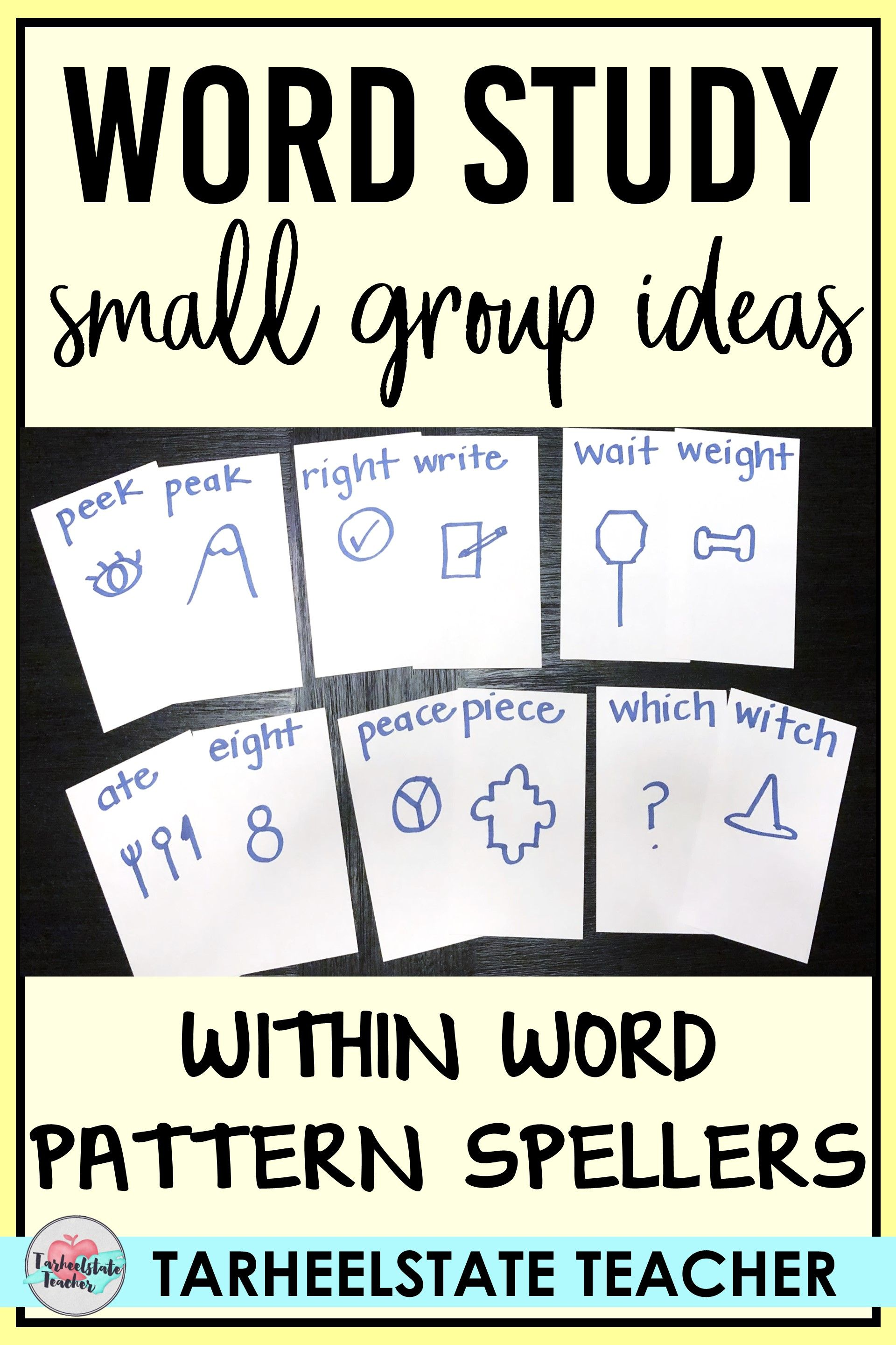 Word Study Small Groups Within Word Pattern Stage
