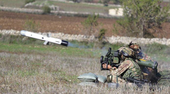 Pin su artiglieria
