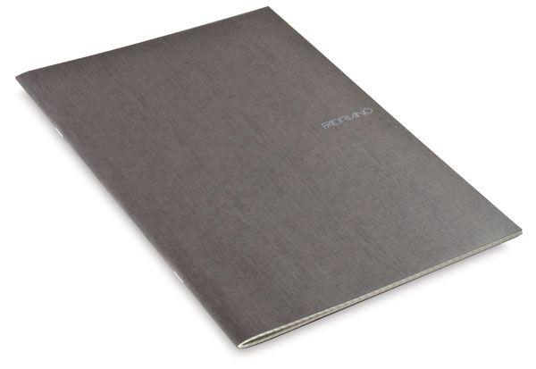 Grid Staplebound Notebook, Stone, 38 Sheets