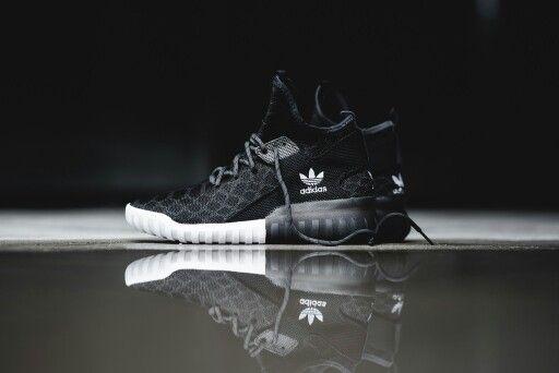 competitive price 6e50b ffc80 Adidas Originals Tubular X Prime Knit - Black 'Snake ...