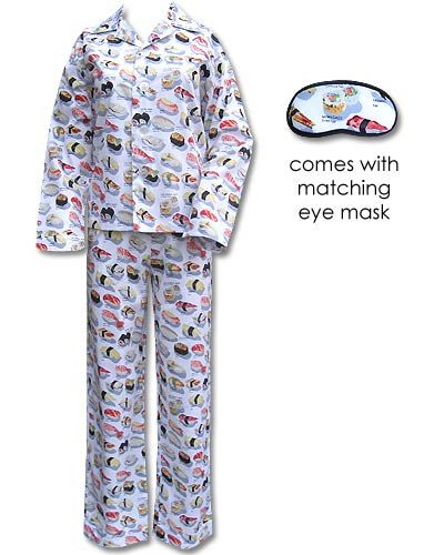 Buffy's yummy sushi pajamas (BTVS nerd here).