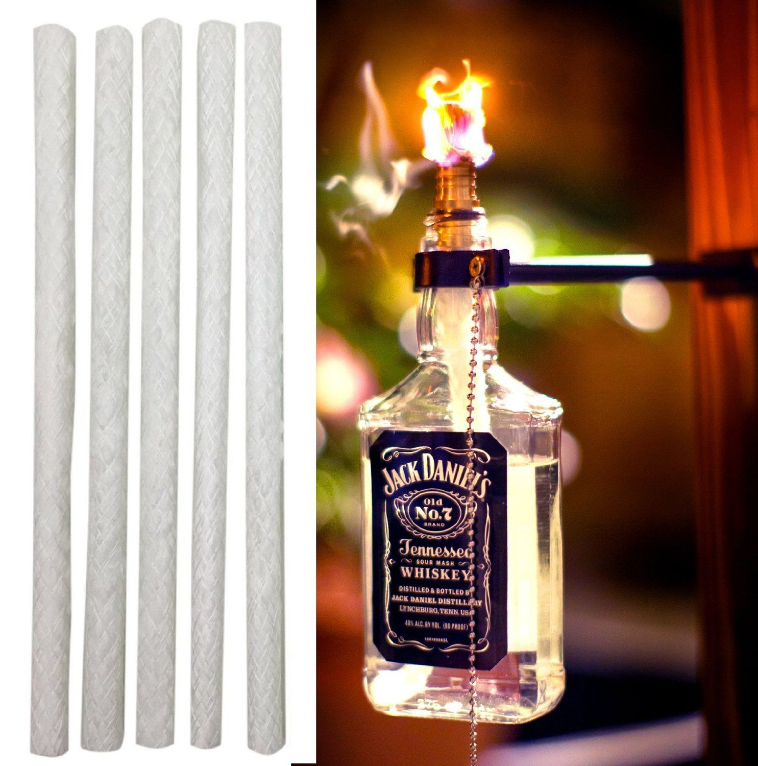 Kentucky 10 inch fiberglass tiki torch wicks pack of 12 dont the ojays solutioingenieria Image collections