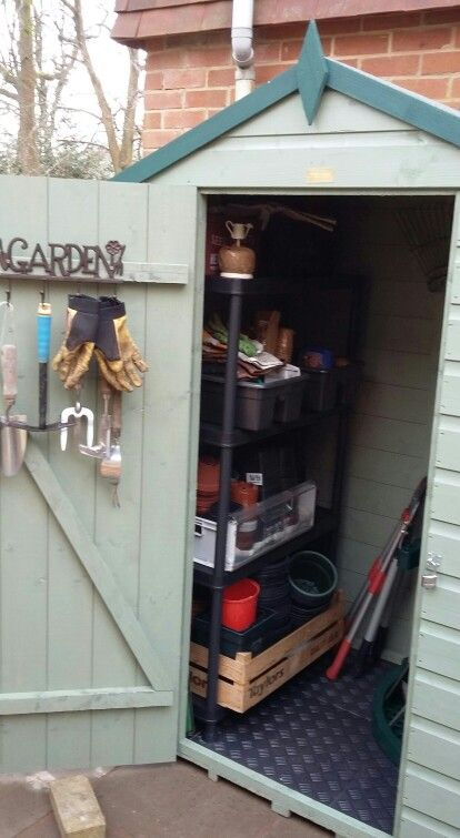 just the right size and height for my tools 4ft wide 3ft deep and paint colourssheds - Garden Sheds 3ft Wide