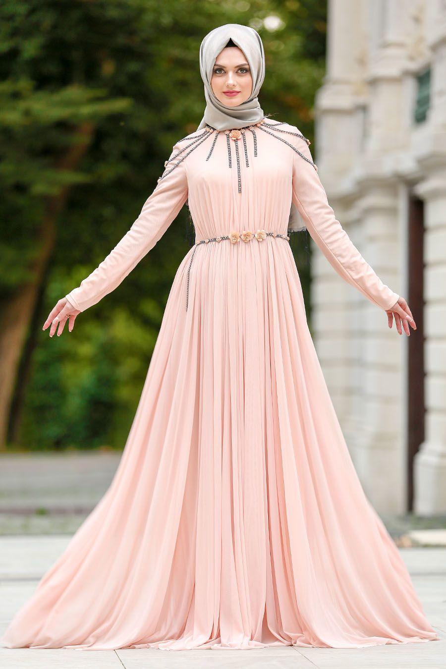 Tesetturlu Abiye Elbise Pelerinli Gri Tesettur Abiye Elbise 3287gr Tesetturisland Com Elbise Moda Stilleri Musluman Modasi
