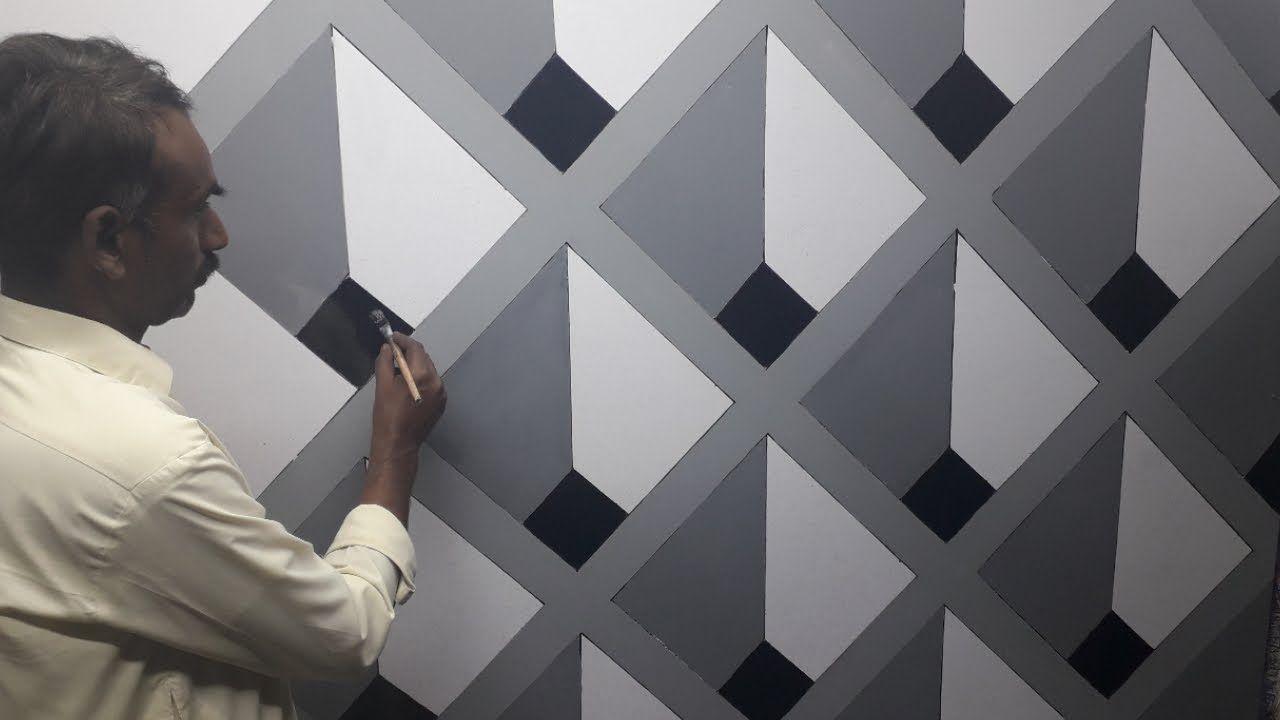 Graphic Wall Diy Wall Painting Wall Paint Designs Wall Design