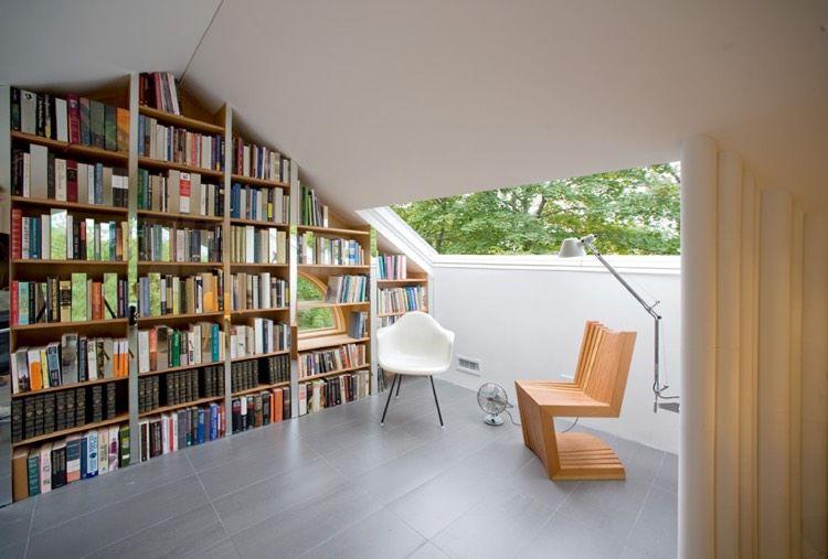 Bibliothèque Moderne à La Maison 20 Idées Pour L Intérieur