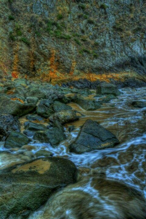 HDR Crystal Cove, California