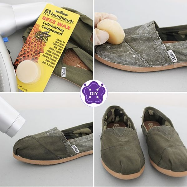 How to water proof your canvas shoes
