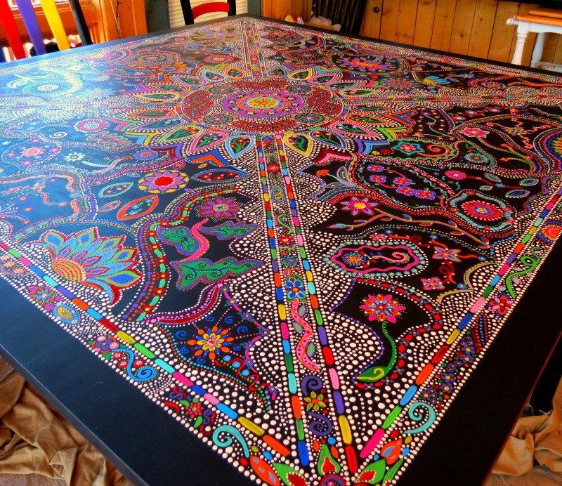 Funky Painted Furniture | Painted Furniture / Custom Order Fun U0026 Funky  Handpainted Furniture. $ ... | Painted Furniture | Pinterest | Funky Painted  ...
