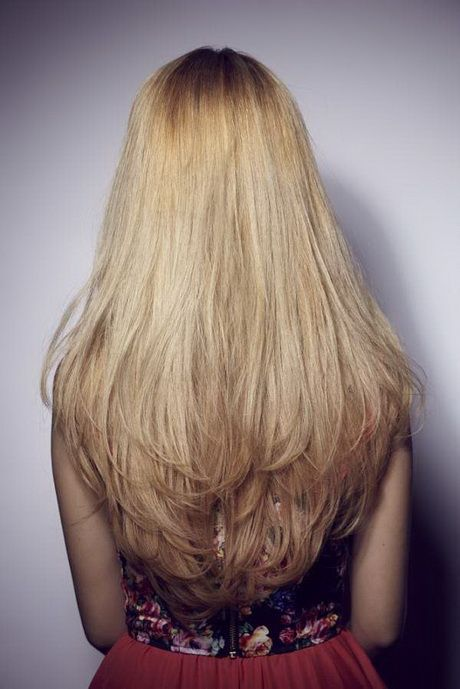 Layered Haircut Back View Hair Stylings Pinterest Layer