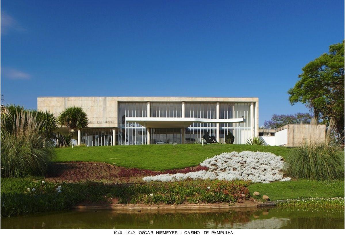 Oscar Niemeyer Pampulha Museu De Arte Belo Horizonte Oscar